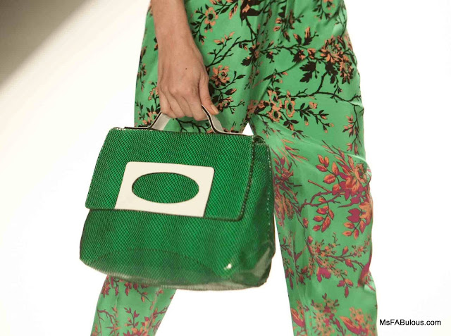 nanette lepore purse green