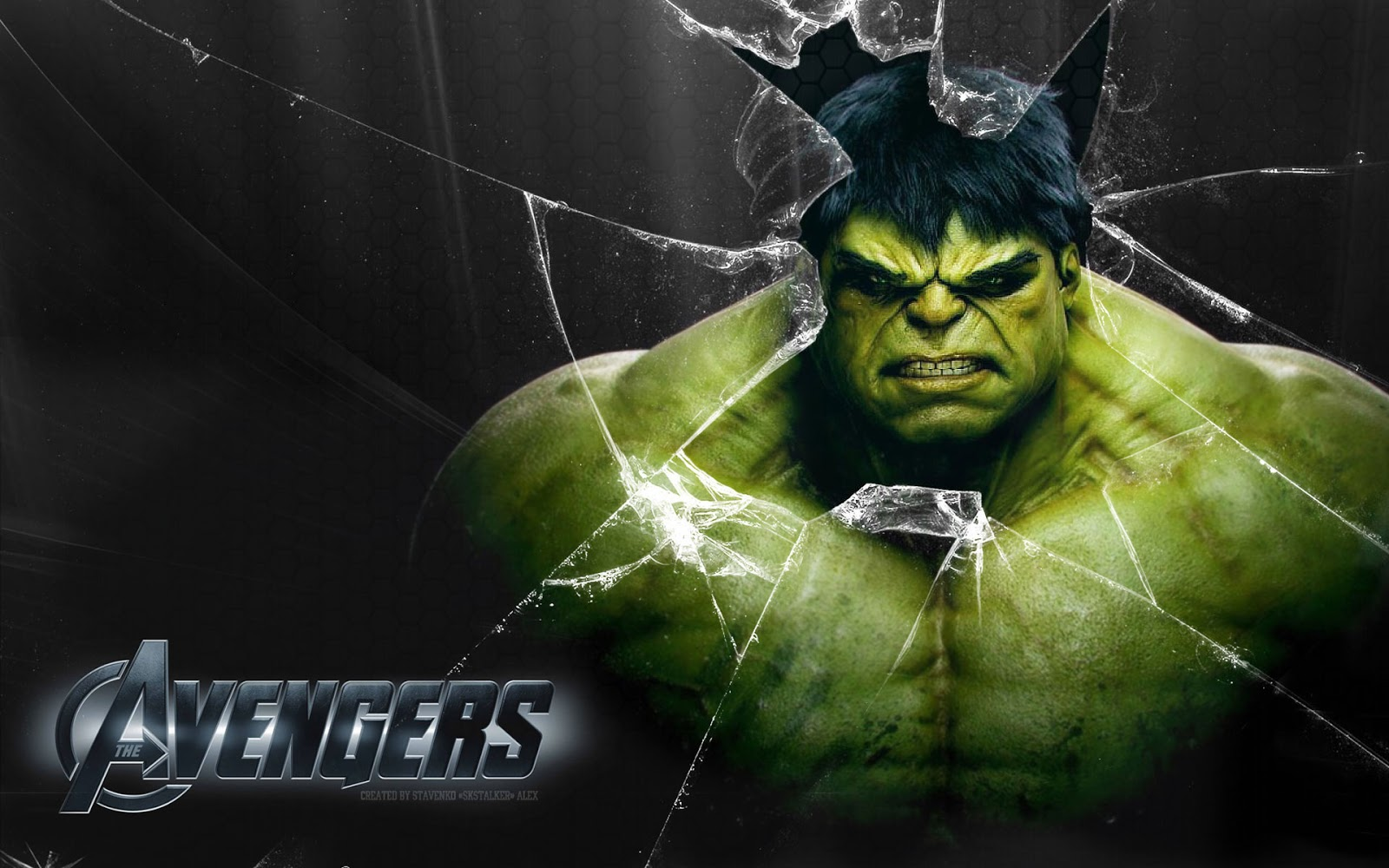 The Incredible Hulk in Avengers Wallpaper