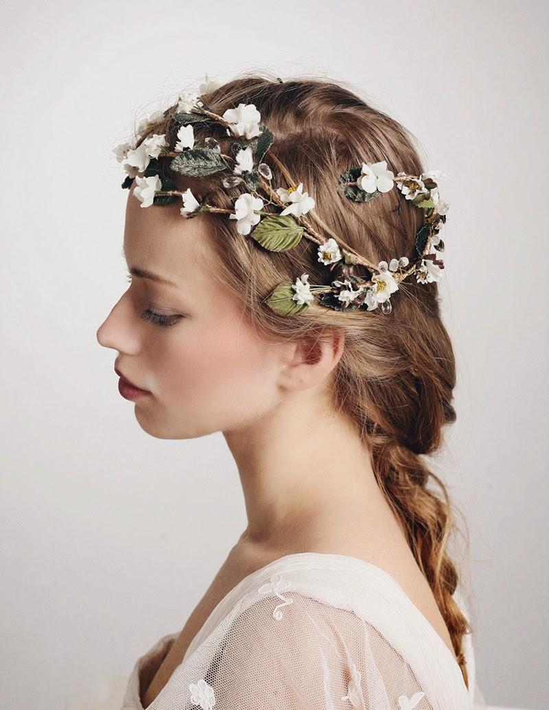 Dalila es otra de las piezas de la nueva colección de tocados de novia de Ani Bürech
