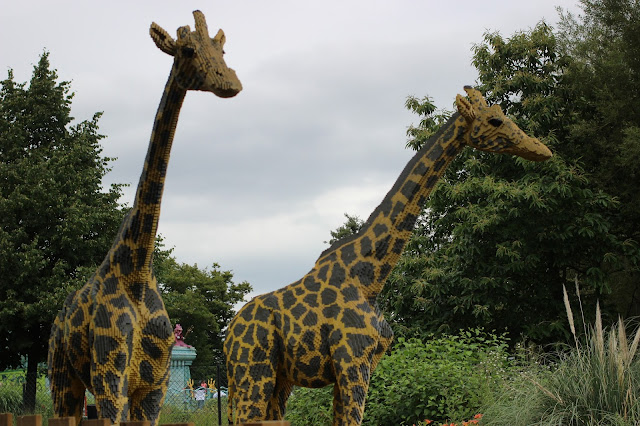 Giraffes at Legoland Windsor | Chichi Mary Kids Boutique