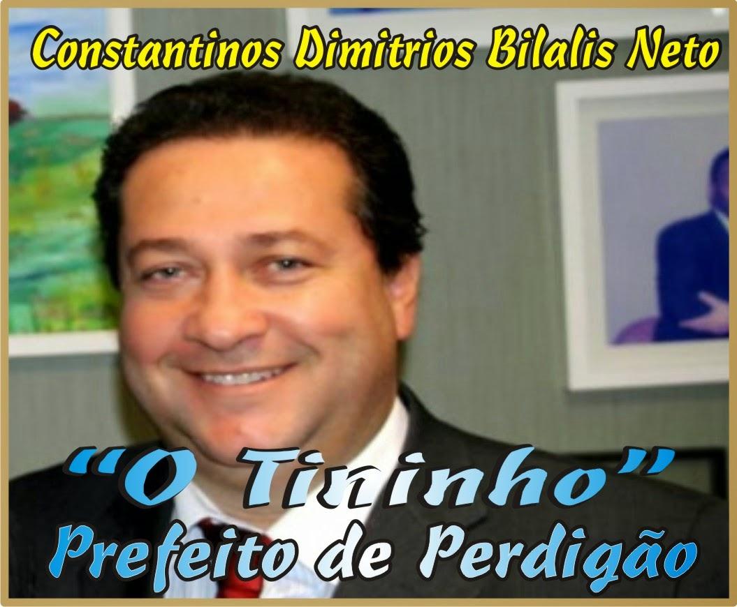 Constantinos Dimitrios Bilaris Neto Tininho