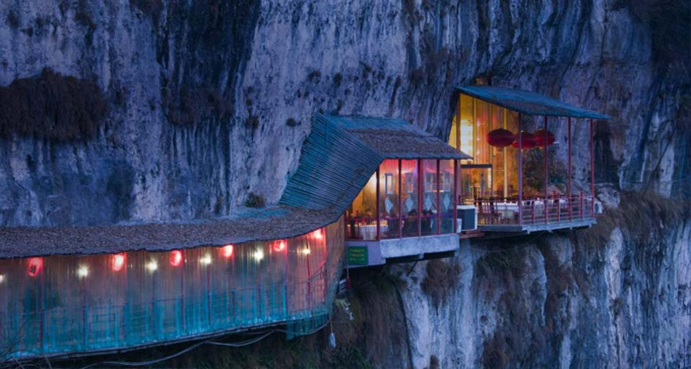The Seaside Restaurant Inside a Cave