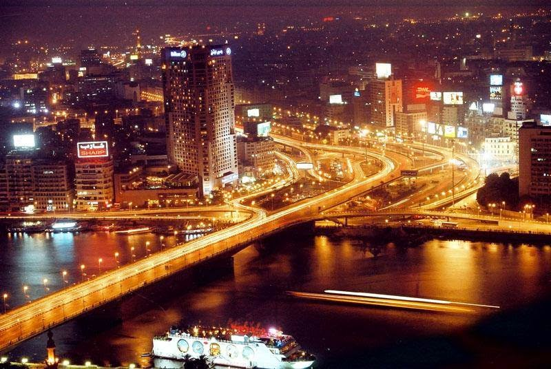 Night at Cairo, Egypt