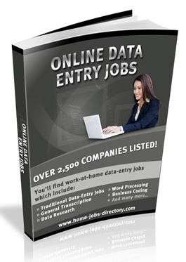 Online Data Entry SAHM Jobs