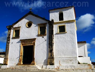 Igreja Nossa Senhora do Rosário dos Homens Pretos, em São Cristóvão - Sergipe - Por Tito Garcez