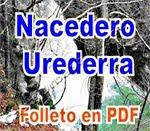 2  Nacedero     Urederra.     Folleto  PDF