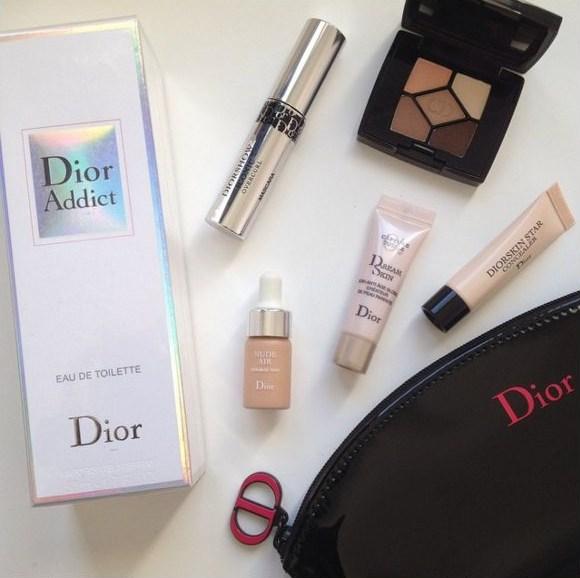 Cissilia's corner: Dior Addict perfume + gift with purchase