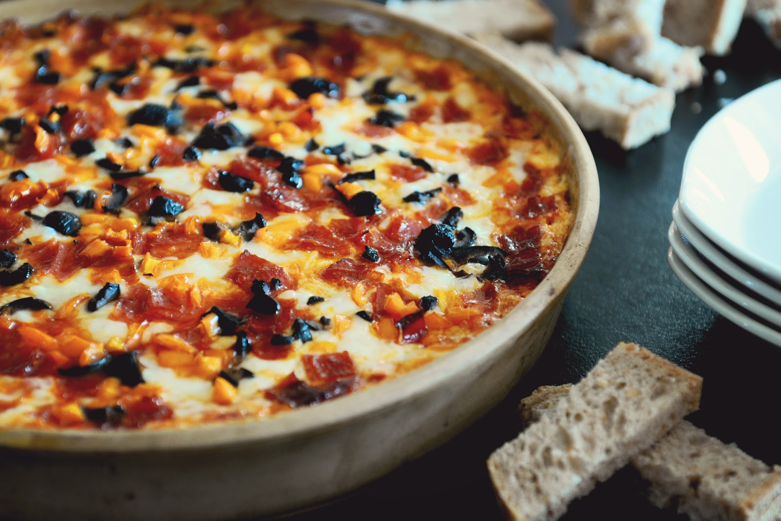 Simply Gourmet: Pizza Dip