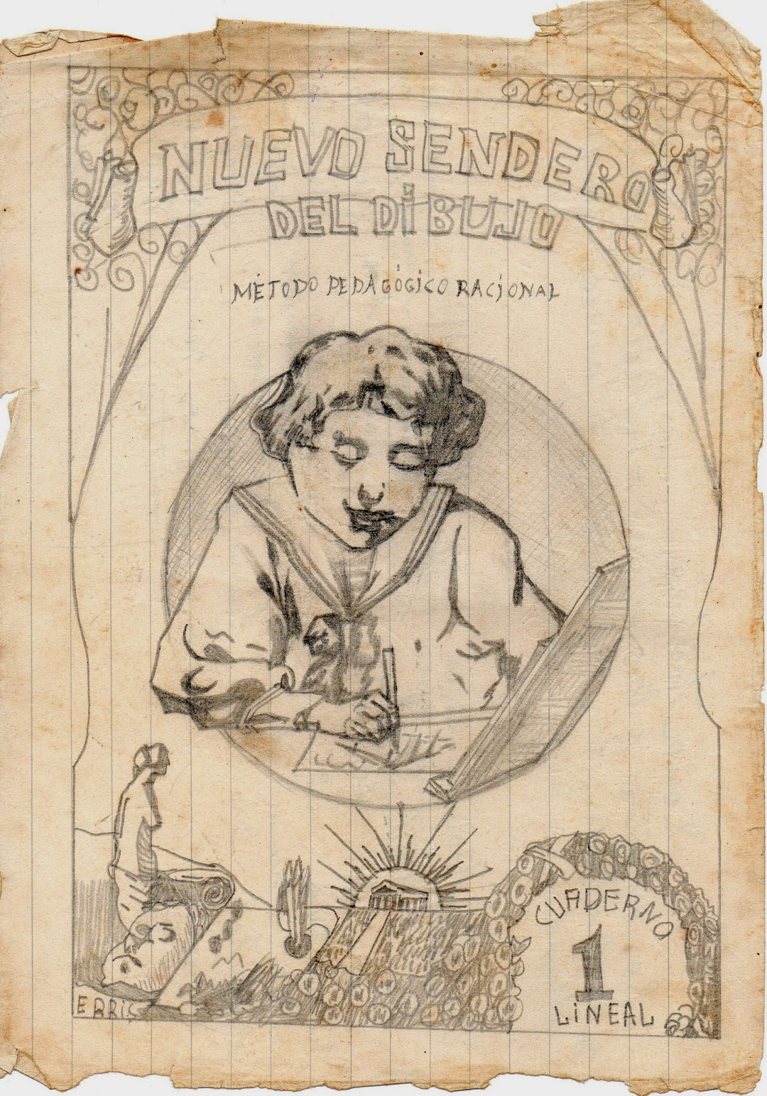 Melitina Álvaro Blázquez - Dibujo Nuevo Sendero del Dibujo - 1933-1940