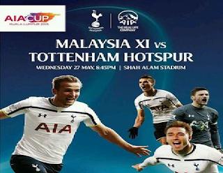 Pilihan Malaysia Lawan Tottenham Hotspurs