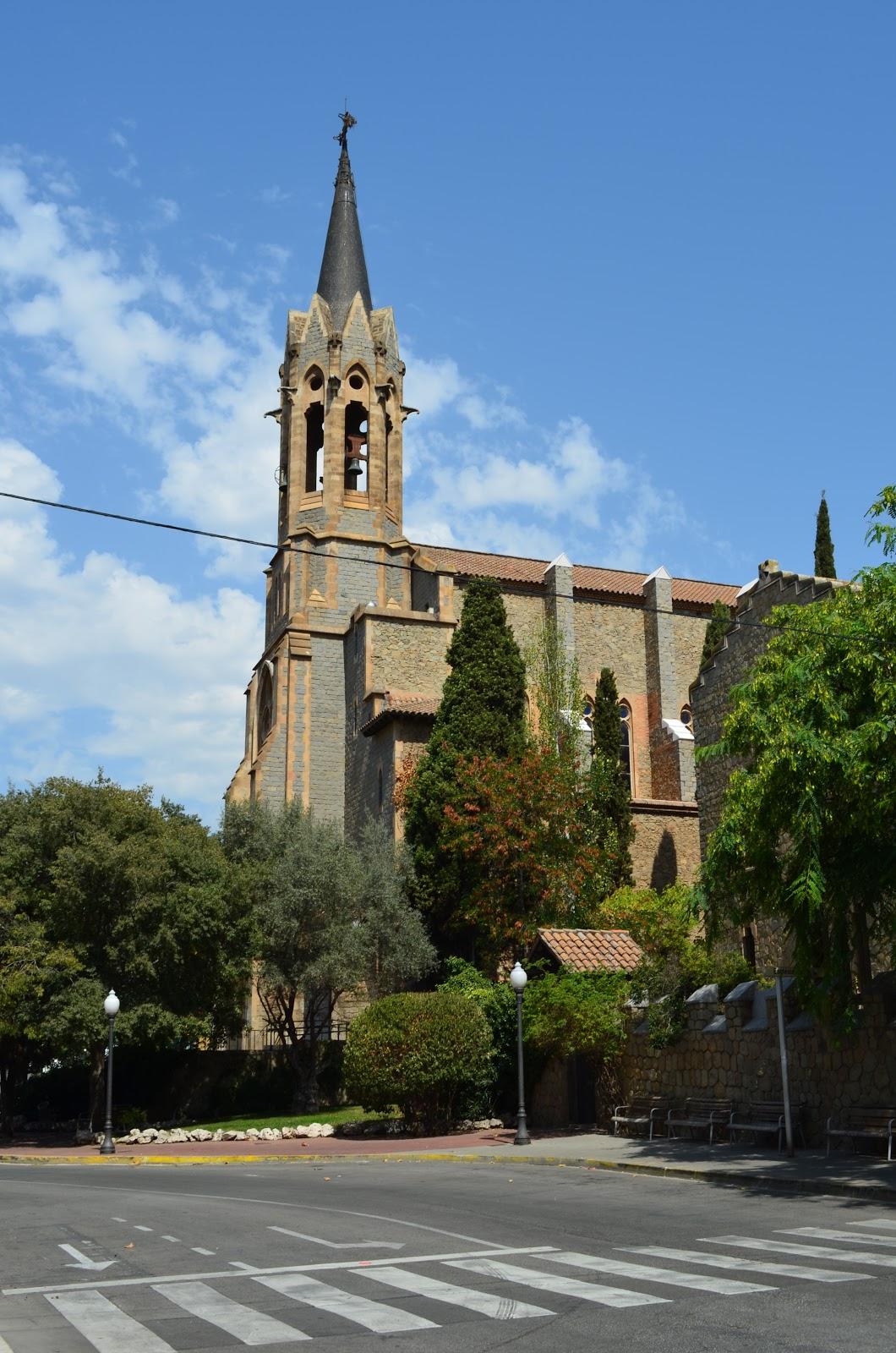 Yovaniotorres santa coloma de gramenet iglesia mayor for Chiquipark en santa coloma de gramenet
