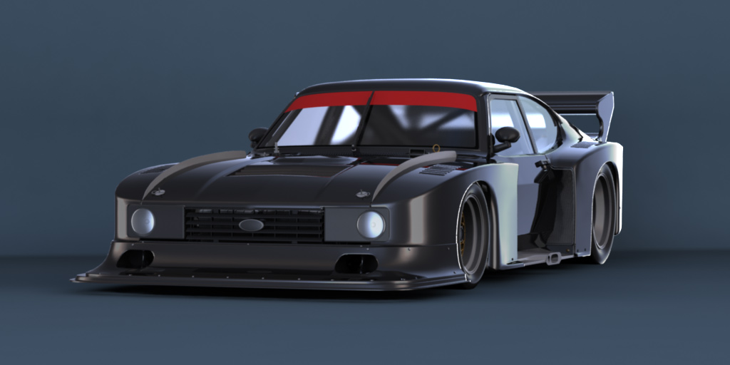 project c a r s simracing ford capri zakspeed. Black Bedroom Furniture Sets. Home Design Ideas