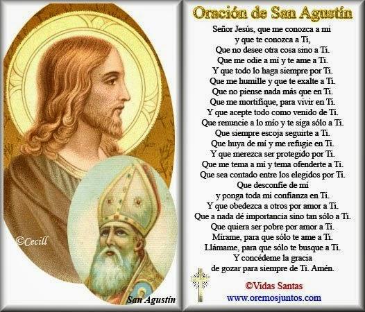 Oración de San Agustín