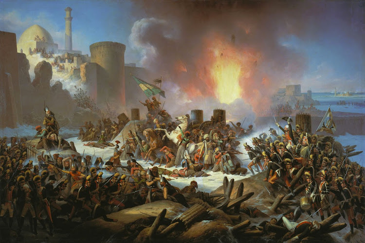 January Suchodolski - Victory of Ochakiv, 1788 December 17
