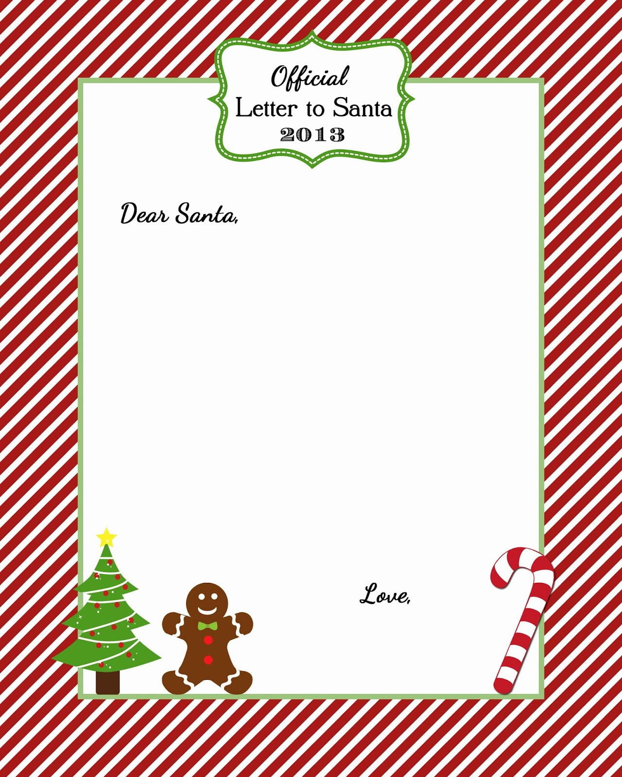 Free Printable Santa Naughty Or Nice List | Homealterdecor.top