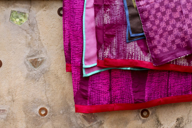 handmade textiles, 2 Up 2 Down, Namrata Shah, silk print, dye