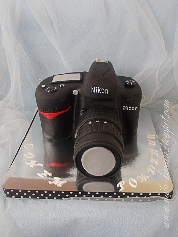 Как сделать торт для фотографа