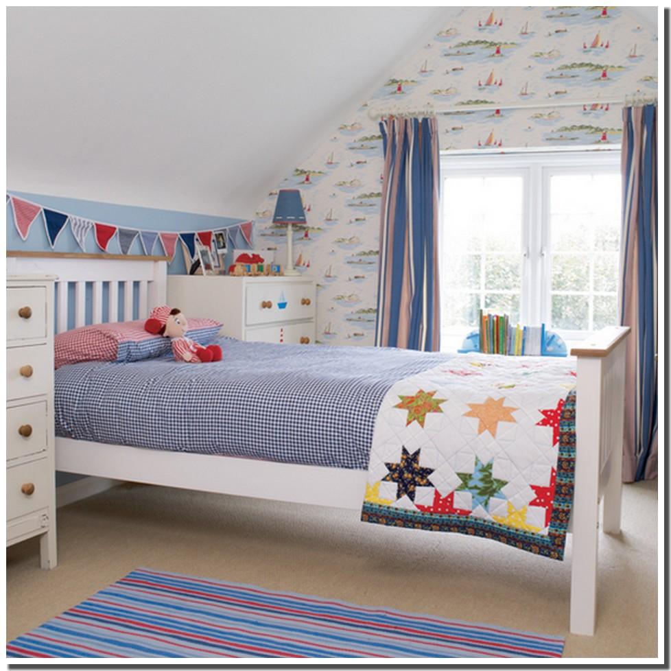 Nassima Home: Chambre enfant thème bord de mer, nautique, bleu océan