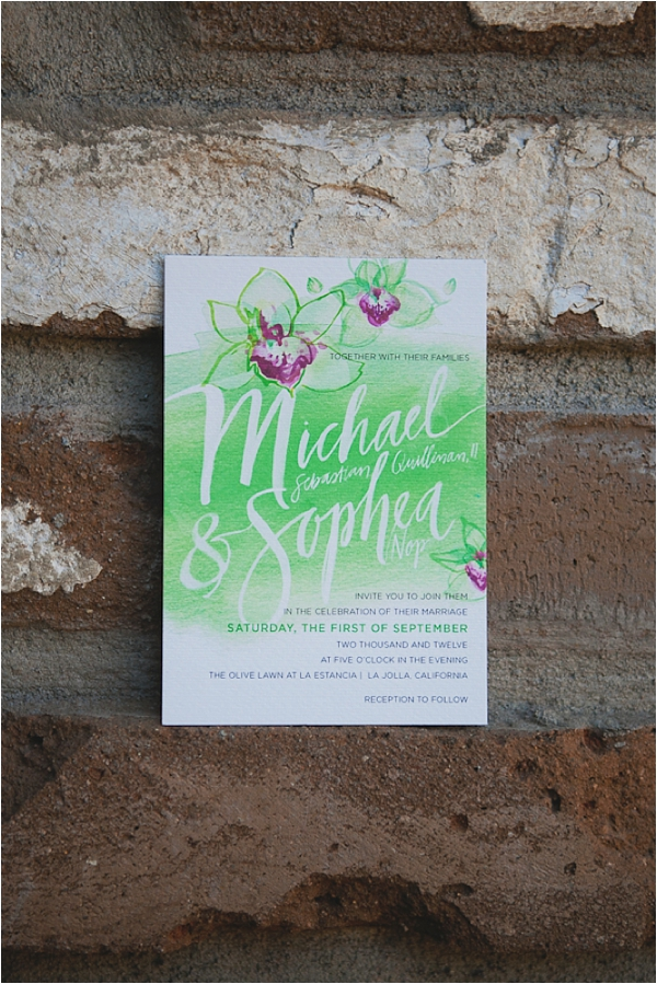 invitations by julie song ink // photo credit: closer to love photography & design