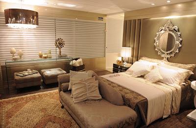 tapete oriental em quarto de casal