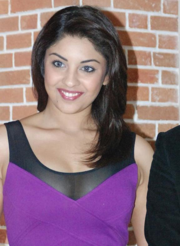 Richa Gangopadhyay In Hot Purple Dress Short Skirt Photos Stills gallery pictures