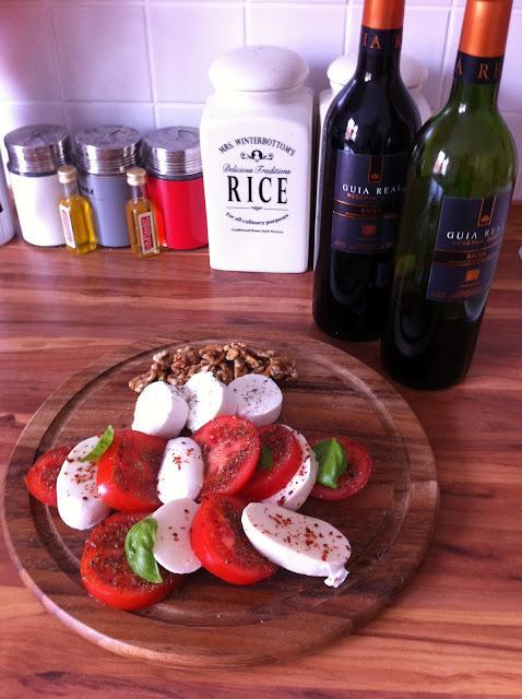 Mozzarella & Wine