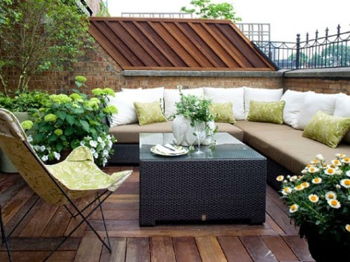 Outdoor Living Room in the terrace | Outdoor Furniture in Vietnam
