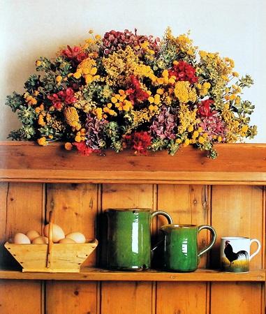 Como decorar con flores secas composicion - Flores secas para decorar ...