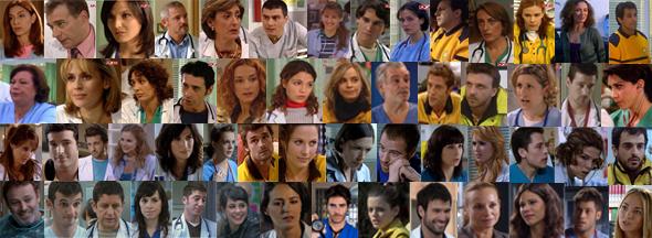 Todos los actores principales de la serie médica de Telecinco