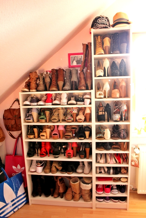 Welcome to my closet shoes fashion kitchen - Billy schuhregal ...