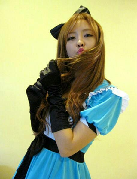 Foto Hyomin dari Aplikasi Android T-ara