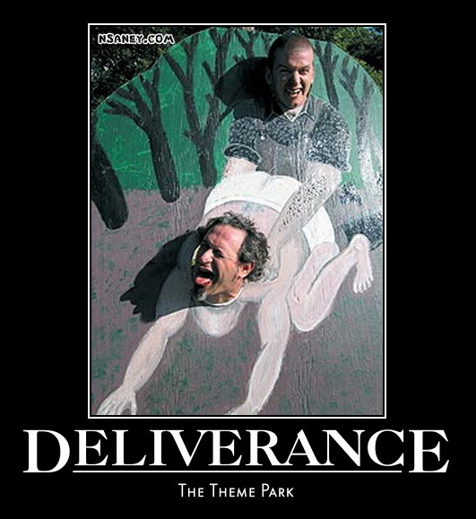 deliverancethemepark nsaney'z posters ii deliverance the theme park
