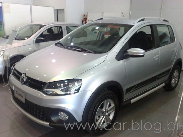 VW CrossFox 2012 - frente