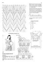 Описание и схемы ажурного вязаного пллатья