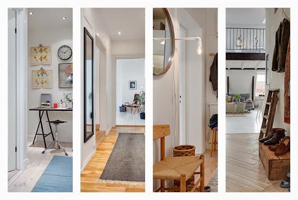 Decoracion de pasillos fotos decorar tu casa es - Ideas para decorar una entrada de casa ...