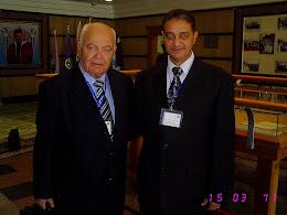 مع علامة الادارة الأستاذ الدكتور عبد الباري الدرة