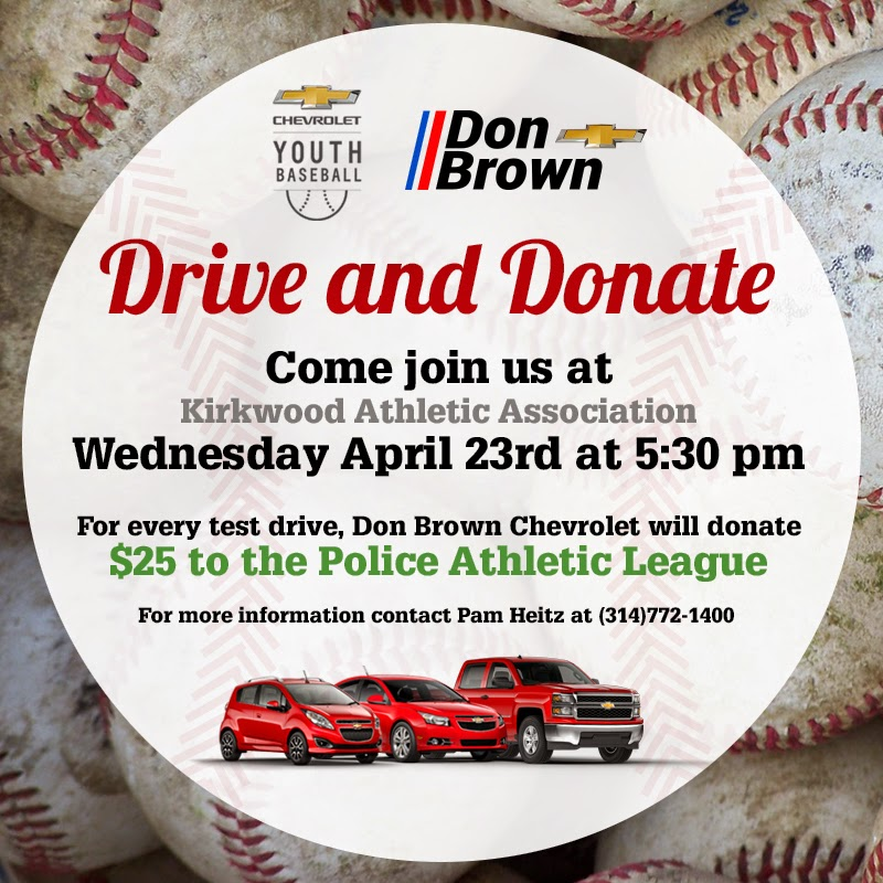 Don Brown Chevrolet & Chevy Youth Baseball Test Drive Fundraiser!