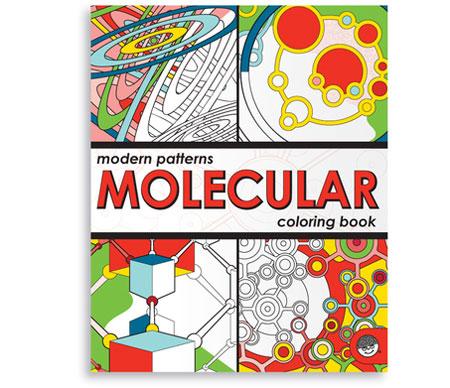 Libro para colorear moléculas | La Guarida Geek