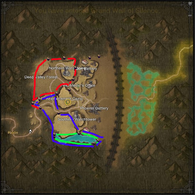 Grand Wall Node Route Map