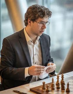 Échecs : le Norvégien Jon Ludwig Hammer - Photo © Chessbase