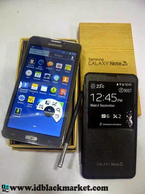 Samsung note 3 supercopy hitam