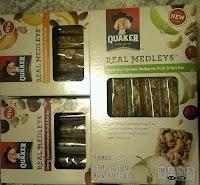 quaker real medleys bars prize back