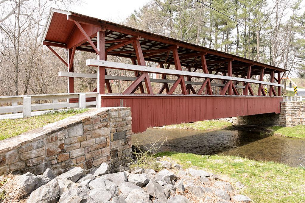 Colvin Covered Bridge - Bedford County, PA