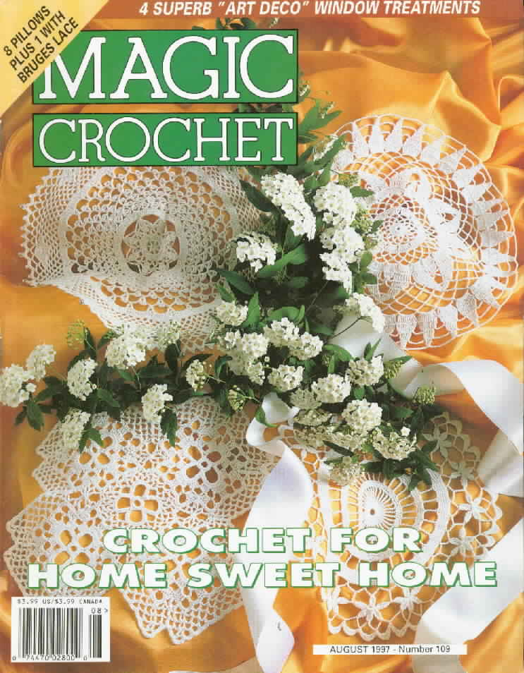 Magic Crochet No. 109 ~ Free Crochet Patterns
