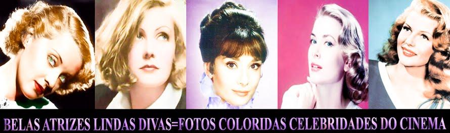 BELAS ATRIZES LINDAS DIVAS FOTOS COLORIDAS CELEBRIDADES DO CINEMA