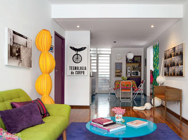 decoracao cozinha flat:CASA DECORAÇÃO & ARTE : Decoração Alegre e Colorida