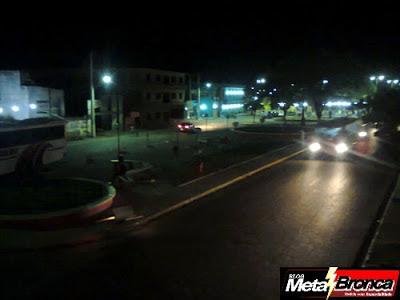 Praça Santo Antônio Novamente na Escuridão