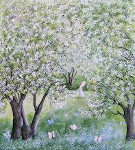 I äppelträdgården