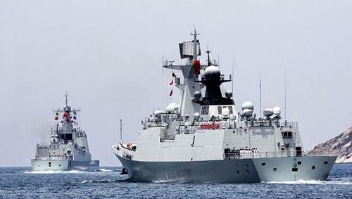 Trung Quốc tập trận bắn đạn thật gần Việt Nam