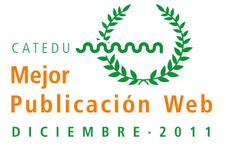 Premio Mejor publicación web